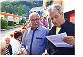 Mieter und Gesellschaft feiern 50 Jahre Am Lennestein 6-12